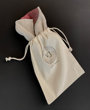 "Linen tea towel ""Betterave rouge"""