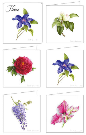 Box of 5 Cards - Flowers