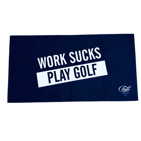 WORK SUCKS CADDY TOWEL