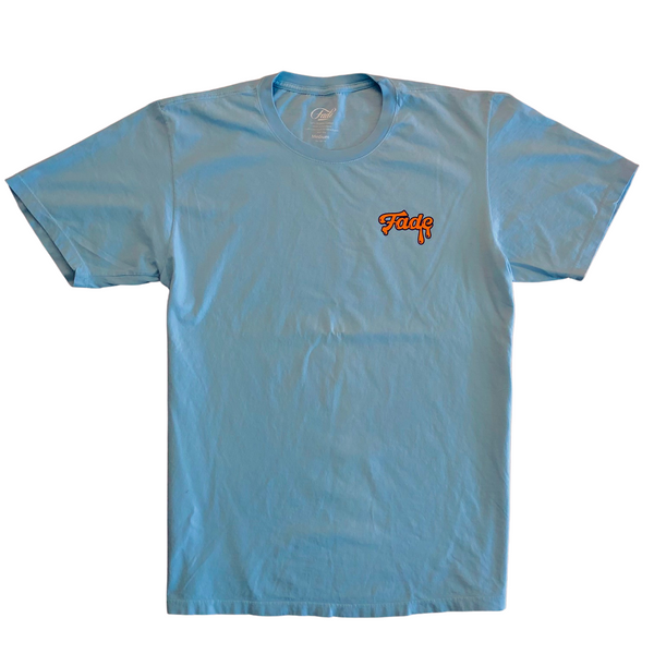 MIDROUND MELTDOWN TEE-SHORT SLEEVE-LIGHT BLUE