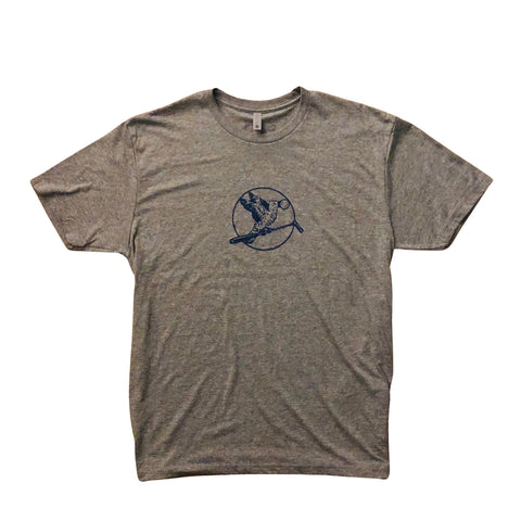 MCBIRDIE-GRAY HEATHER/NAVY