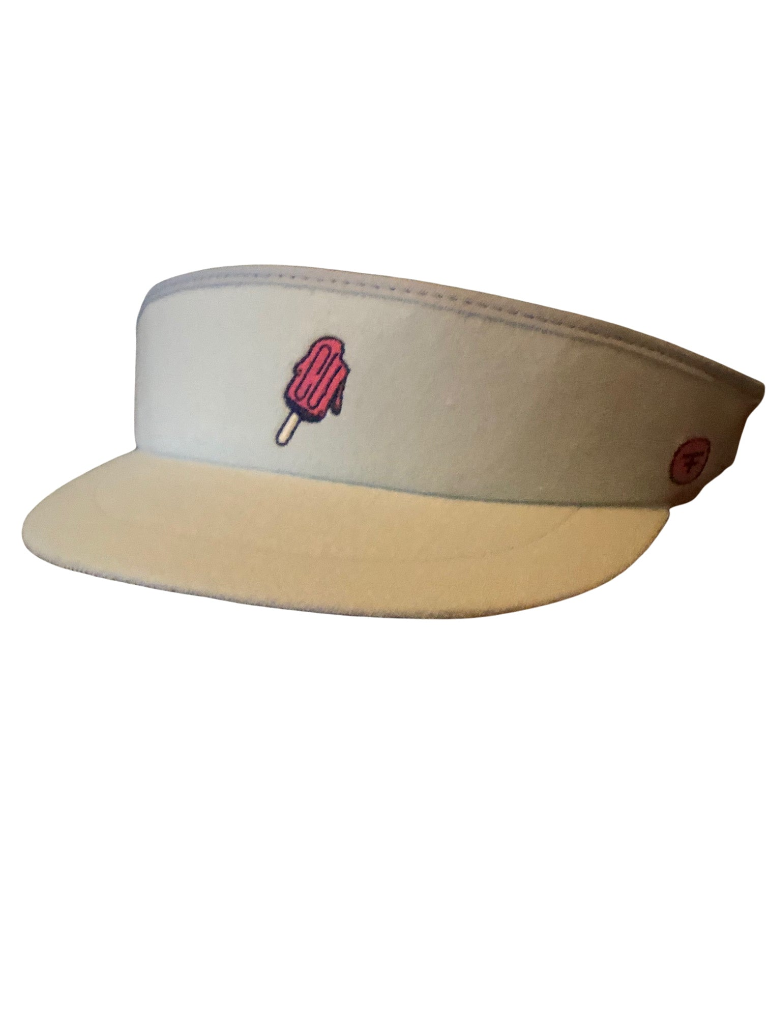 TERRY POP TOUR VISOR- LIGHT BLUE