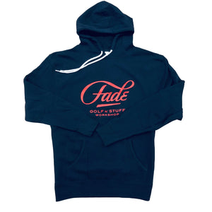 FADE NAVY HOODIE - Fade Golf N' Stuff Workshop