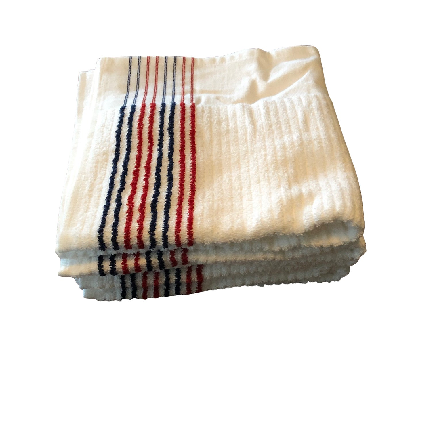 LOOPER TOWEL- RED, WHITE AND BLUE STRIPE - Fade Golf N' Stuff Workshop