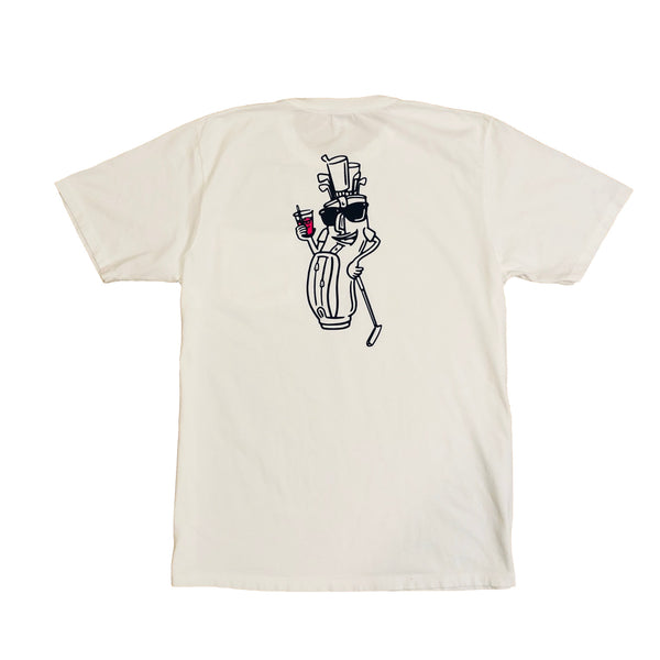 POCKET TITO TEE-WHITE/NAY