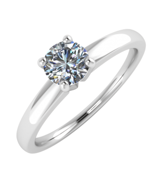 Simple  Alluring Solitaire Ring
