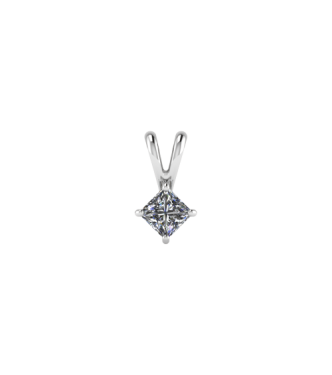Diamond Solitaire Pendant Prong