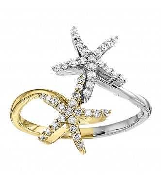 Fashion Starfish Ring New
