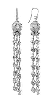Earrings Cometa Collection White