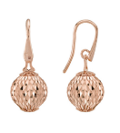 Earrings With Small Pendant Cometa Collection Pink