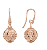 Earrings With Large Pendant Cometa Collection Pink