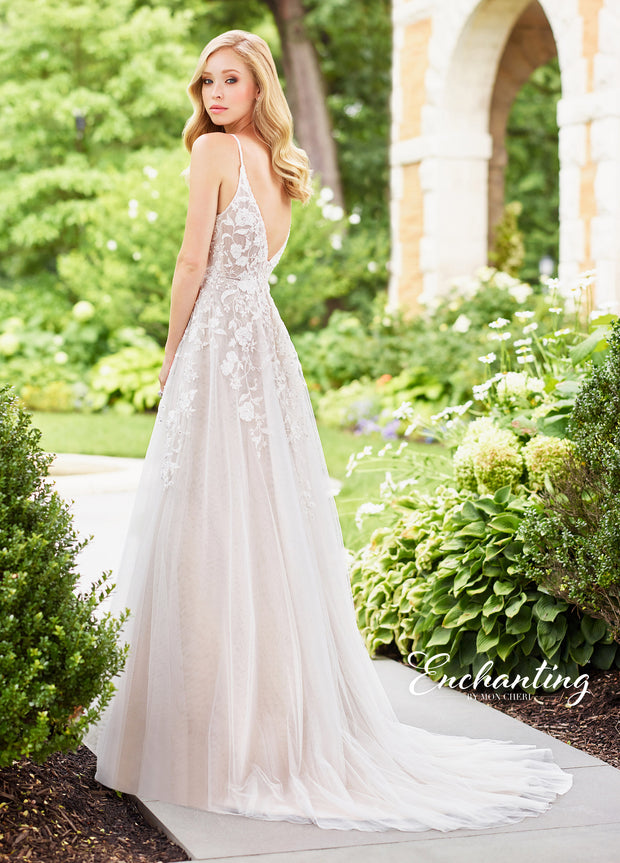 Enchanting by MON CHERI 118136-Gemini Bridal Prom Tuxedo Centre