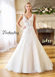 Enchanting by MON CHERI 218179-Gemini Bridal Prom Tuxedo Centre