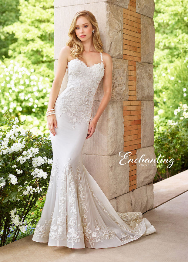 Enchanting by MON CHERI 118152-Gemini Bridal Prom Tuxedo Centre