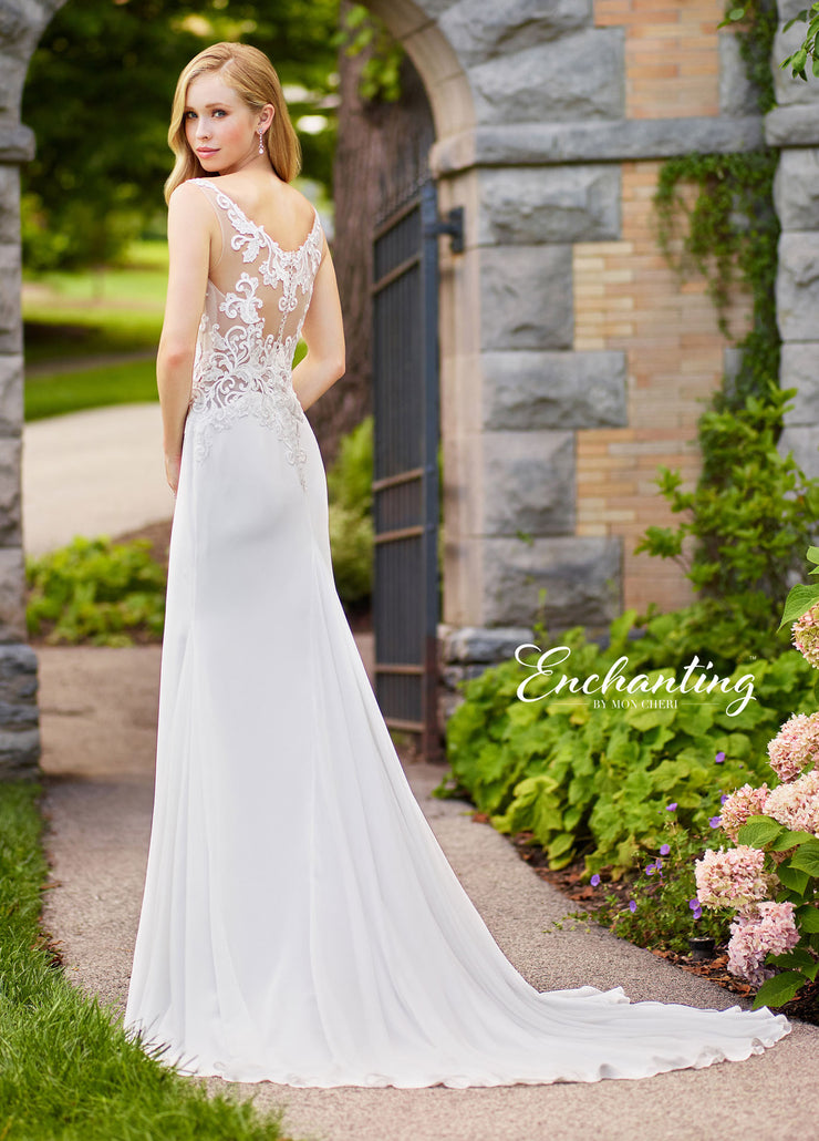Enchanting by MON CHERI 118138-Gemini Bridal Prom Tuxedo Centre