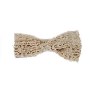 Bow Vintage Lace Ivory
