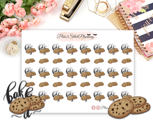 Bake Food Planner Stickers