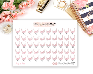 Buy A New Bra Planner Stickers