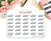 Load image into Gallery viewer, Flosstube Planner Stickers
