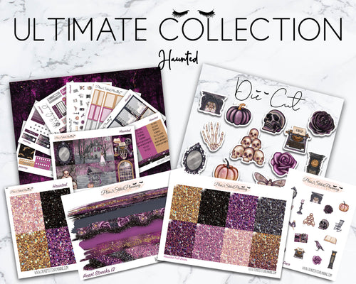 Ultimate Collection | Haunted Deluxe Weekly Sticker Kit Version