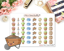 Load image into Gallery viewer, Gardening Planner Stickers