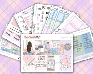 No Place Like Home Deluxe Weekly Sticker Kit