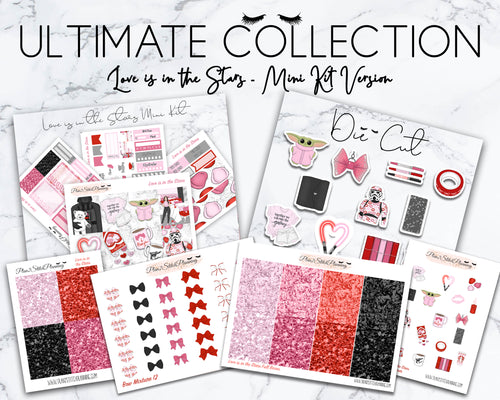 Ultimate Collection | Love is in the Stars Mini Weekly Sticker Kit Version