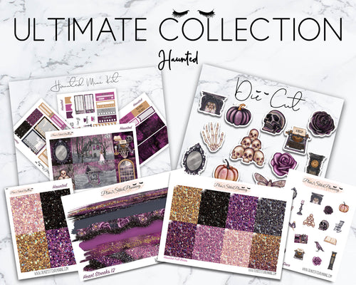 Ultimate Collection |Haunted Mini Weekly Sticker Kit Version