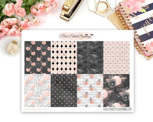 Rose Blush Full Box Planner Stickers