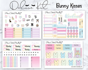 Bunny Kisses Deluxe Weekly Sticker Kit