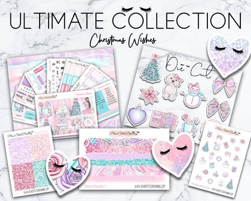 Ultimate Collection | Christmas Wishes Deluxe Weekly Sticker Kit Version