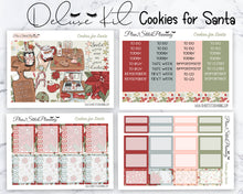 Load image into Gallery viewer, Cookies for Santa Deluxe Weekly Planner Sticker Kit