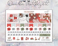 Load image into Gallery viewer, DECEMBER Dear Santa Monthly Sticker Kit