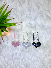 Load image into Gallery viewer, Love Heart Jumbo PlannerClip Charm