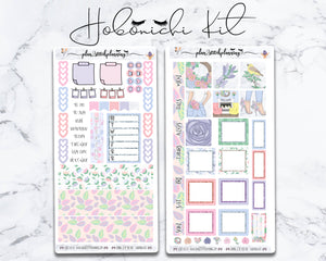 Spring is in the Air Hobonichi Sticker Kit