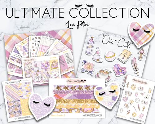 Ultimate Collection | Love Potion Deluxe Weekly Sticker Kit Version