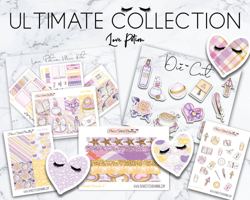Ultimate Collection | Love Potion Mini Weekly Sticker Kit Version