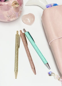 Luxury Sparkle Ballpoint Pens - Choose your colour