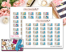 Load image into Gallery viewer, Outfit Layout Flatlay Planner Stickers