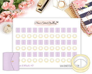 Ultimate Collection | Bunny Kisses Deluxe Weekly Sticker Kit Version