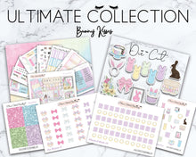 Load image into Gallery viewer, Ultimate Collection | Bunny Kisses Deluxe Weekly Sticker Kit Version