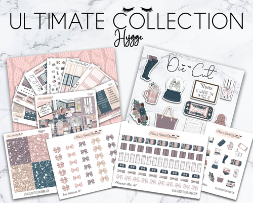 Ultimate Collection | Hygge Deluxe Weekly Sticker Kit Version