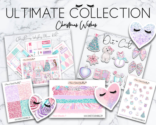 Ultimate Collection | Christmas Wishes Mini Weekly Sticker Kit Version