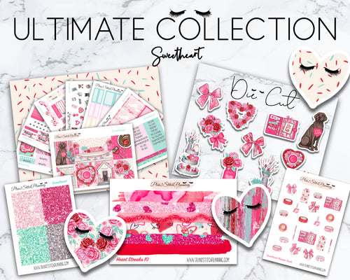 Ultimate Collection | Sweetheart Deluxe Weekly Sticker Kit Version