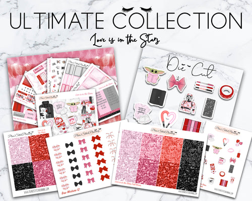 Ultimate Collection | Love is in the Stars Deluxe Weekly Sticker Kit Version