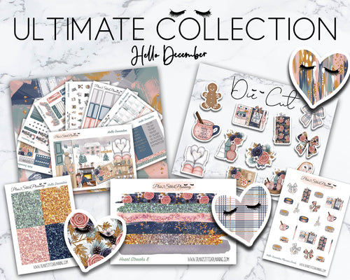 Ultimate Collection | Hello December Deluxe Weekly Sticker Kit Version