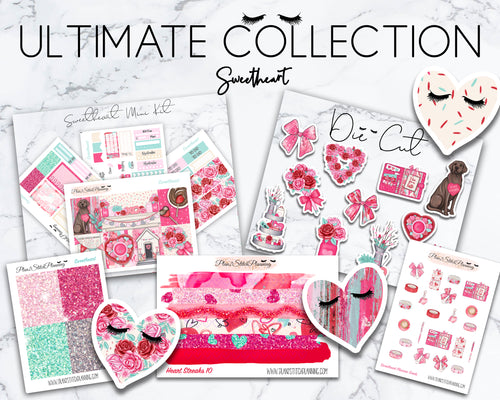Ultimate Collection | Sweetheart Mini Weekly Sticker Kit Version
