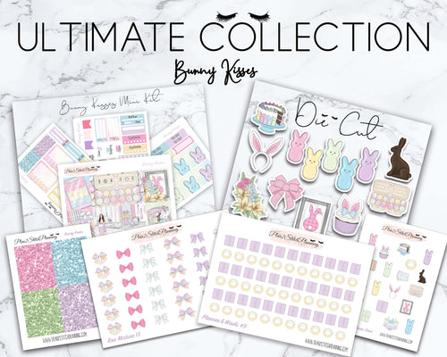Ultimate Collection |Bunny Kisses Mini Weekly Sticker Kit Version