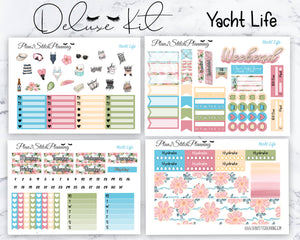 Yacht Life Deluxe Weekly Sticker Kit