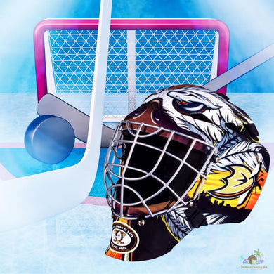 Anaheim Ducks NHL Hockey Net & Mask Diamond Painting